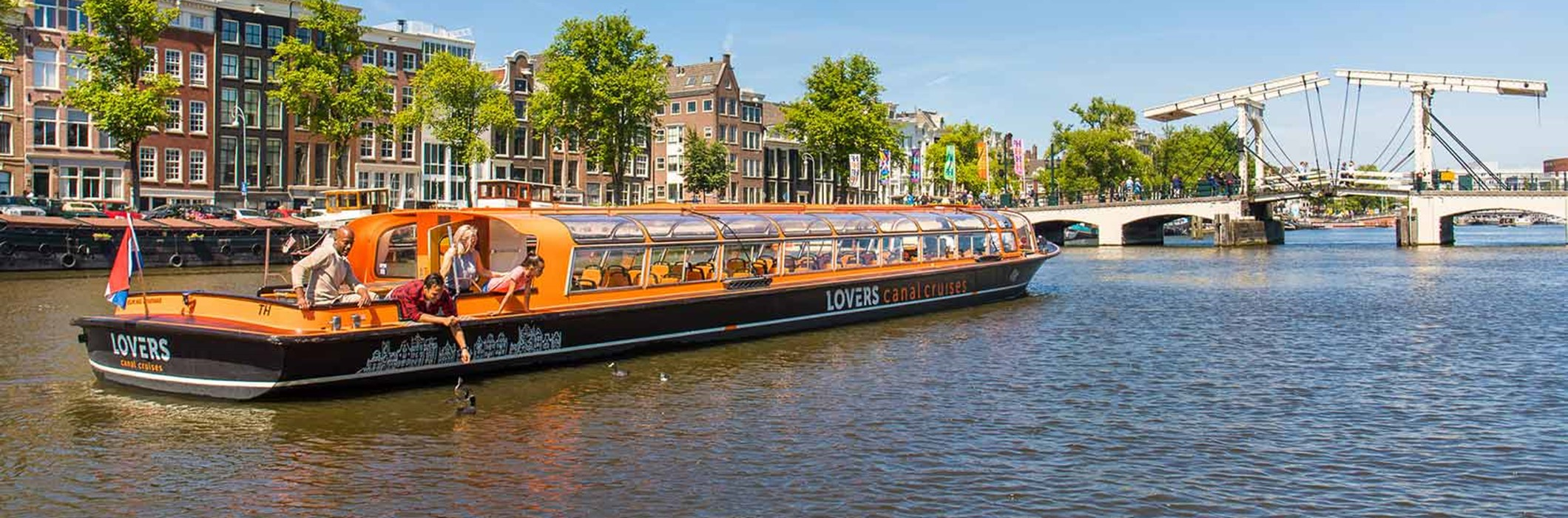 1 h. Amsterdam Day Canal Cruise (departs near Rijksmuseum)
