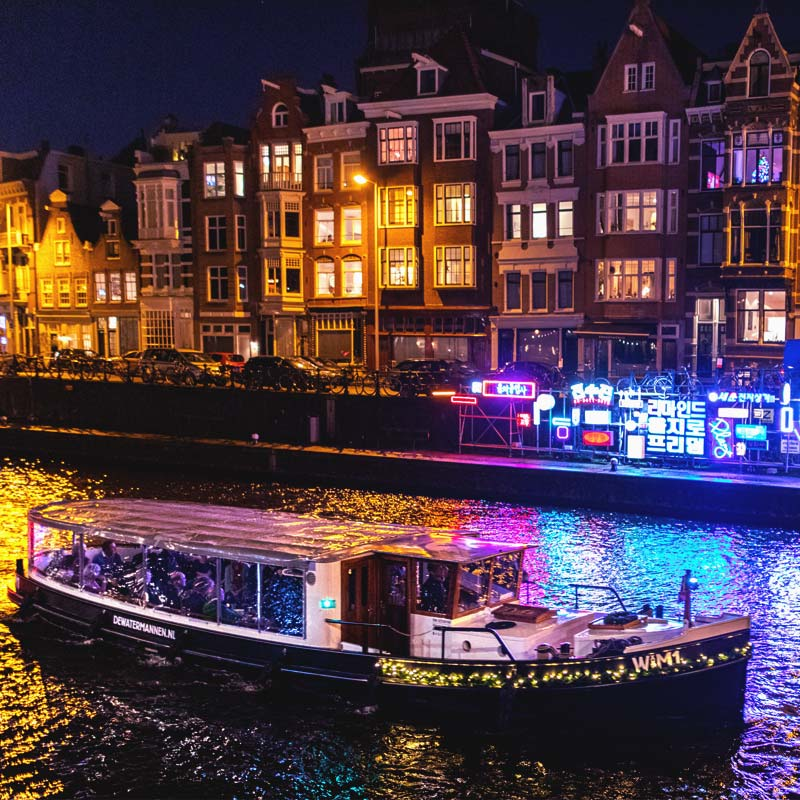 Amsterdam Light Festival Cruise - Dutch Authentic Cruise