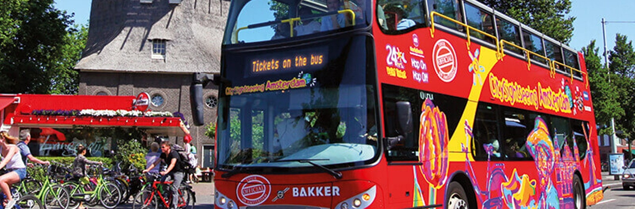 Hop On - Hop Off Bus + Boot Combinatie 48 uur