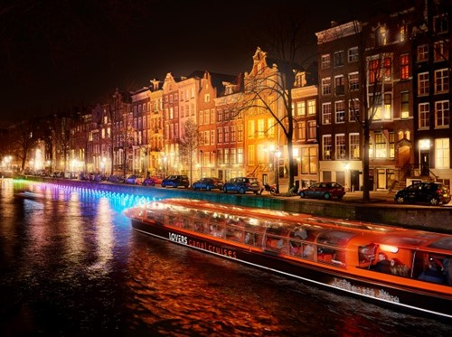 Lovers Canal Cruises Amsterdam Light Festival Water