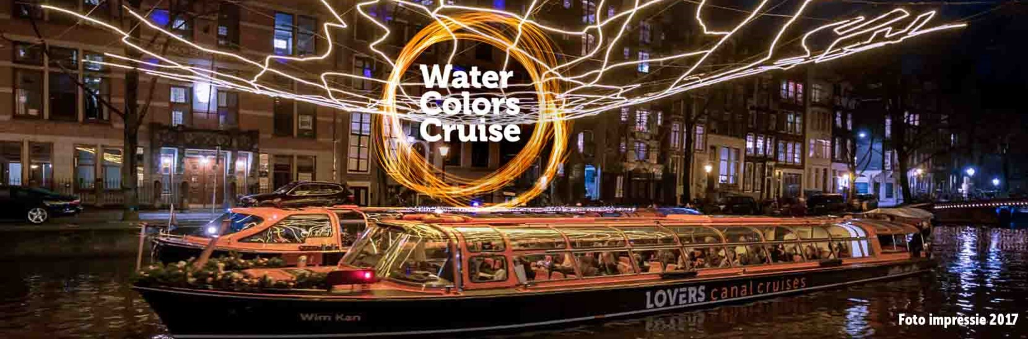 Water Colors Cruise - Loetje Centraal Station