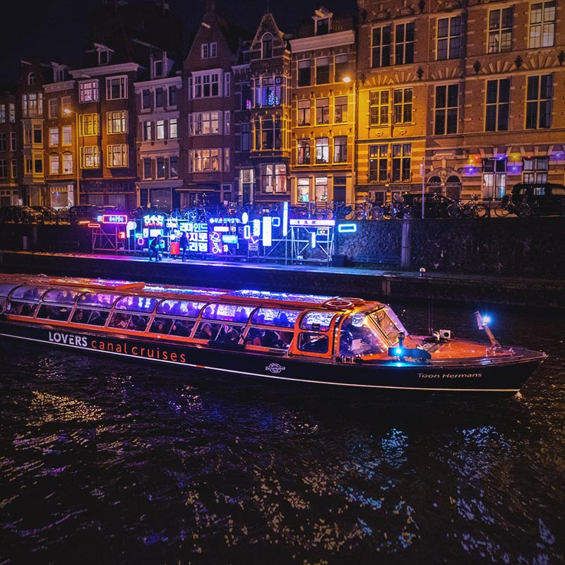 Amsterdam Light Festival Cruise - 1h. Canal Cruise