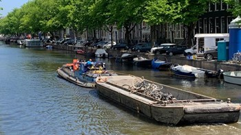 Bikes pulled from the canals