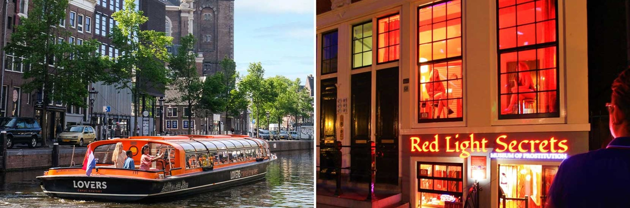 Red Light Secrets + Amsterdam Canal Cruise